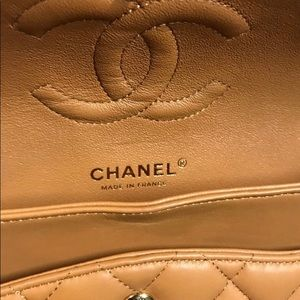 CHANEL Bags - 100%Authentic Chanel Medium Classic Flap Lambskin